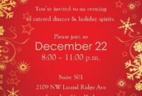 Christmas Party Invitation Backgrounds Free In 2019 throughout Free Christmas Invitation Templates For Word