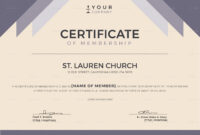 Church Membership Certificate Template with regard to New Member Certificate Template