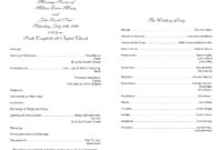 Church Program Template Cyberuse (Free Printable Church with regard to Church Program Templates Word