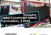 Classroom Banner- Black With Bright Colors | Classrooms with Classroom Banner Template