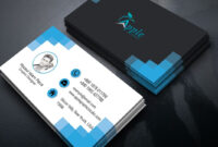 Clean Modern Business Card Design — Photoshop Tutorial inside Create Business Card Template Photoshop