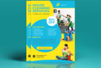 Cleaning Flyer Templateeliyas Ali On Dribbble in Commercial Cleaning Brochure Templates