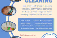Cleaning Service Advertisement Template | Cleaning Service inside Commercial Cleaning Brochure Templates