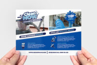 Cleaning Service Flyer Template In Psd, Ai & Vector – Brandpacks inside Commercial Cleaning Brochure Templates