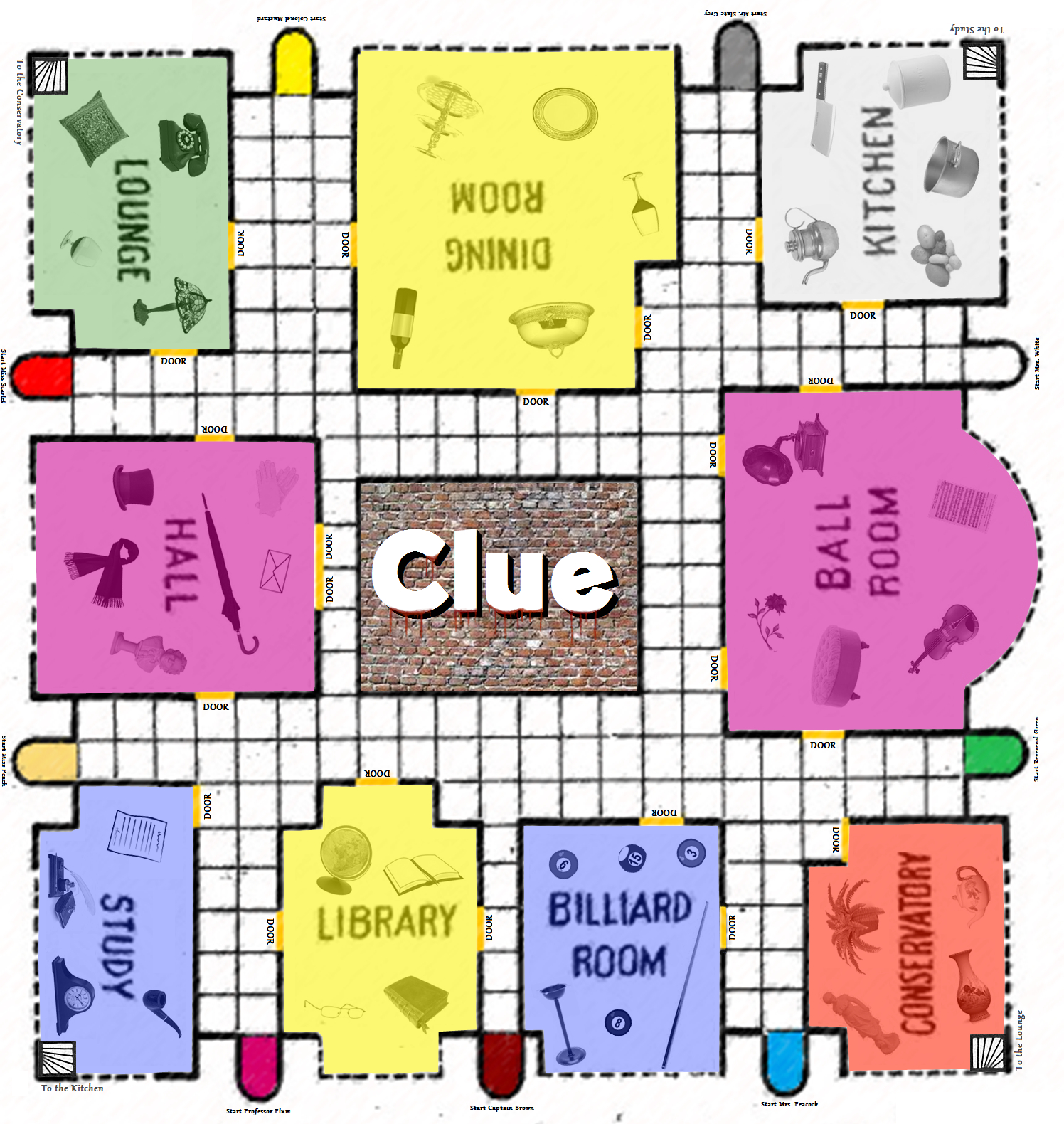 Clue Game Board Printable | Birthday - Spy Detective Mystery Inside Clue Card Template