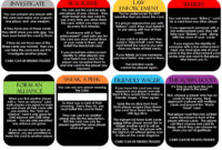 Clued-In Murder Mystery Scavenger Hunt – Printable Party throughout Clue Card Template