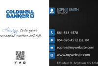 Coldwell Banker Business Cards 23 | Coldwell Banker Business Intended For Coldwell Banker Business Card Template