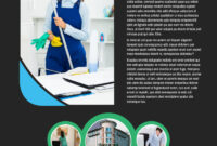 Commercial Office Cleaning Flyer Template throughout Commercial Cleaning Brochure Templates