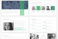 Company Profile Free Powerpoint Presentation Template regarding Biography Powerpoint Template
