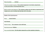 Completing An Accident Report Form Nys Dmv Mv Motor Vehicle In Accident Report Form Template Uk
