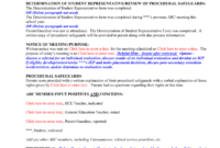 Conference Summary Template P – 6Th Grades inside Conference Summary Report Template