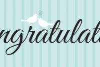 Congratulations Banner Template | Birthday Card Printable regarding Congratulations Banner Template