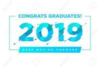 Congratulations Graduates Vector Logo. Graduation Background.. pertaining to Graduation Banner Template