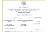 Continuing Education Certificates Templates – Best Education throughout Ceu Certificate Template