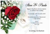 Contoh-Wedding-Invitation-Card | Wedding Invitations In 2019 regarding Acceptance Card Template