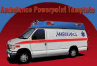 Cool Ambulance Powerpoint Template With Animation pertaining to Ambulance Powerpoint Template