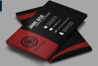 Cool Creative Business Card + Psd – Photoshop Tutorial inside Visiting Card Templates For Photoshop