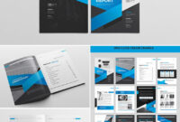 Cool Indesign Annual Corporate Report Template | Report throughout Adobe Indesign Brochure Templates