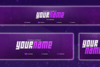 Cool Youtube Banner Template | Banner, Twitter Header regarding Twitter Banner Template Psd