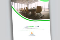 Corporate Report Design Template In Microsoft Word – Used To in Microsoft Word Templates Reports