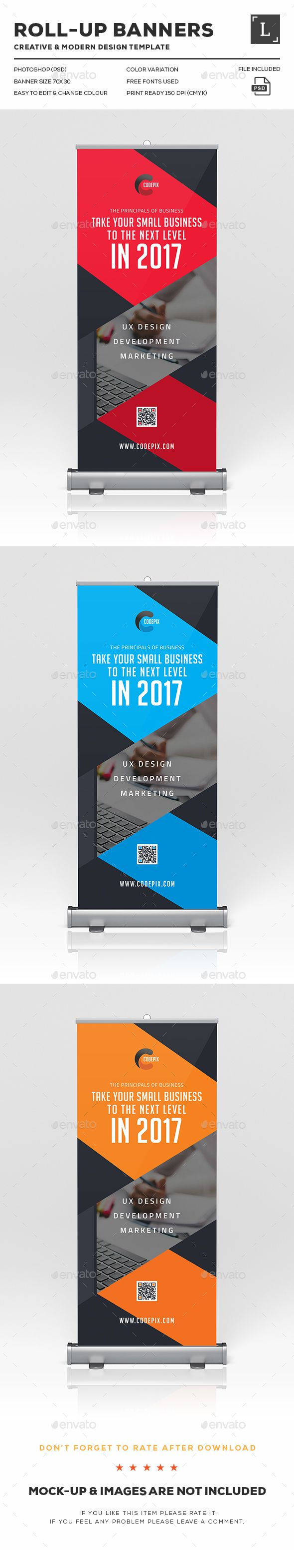 Corporate Roll Up Banner Design Template – Signage Print Throughout Vinyl Banner Design Templates