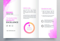 Corporate Tri Fold Brochure Template Templates Free Word Psd with regard to Brochure Templates For Word 2007