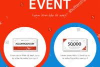 Coupon Event Banner Template Stock Vector (Royalty Free with regard to Event Banner Template