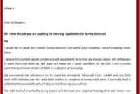 Cover Letter: Cover Letter Sample For Job Application pertaining to Job Application Template Word