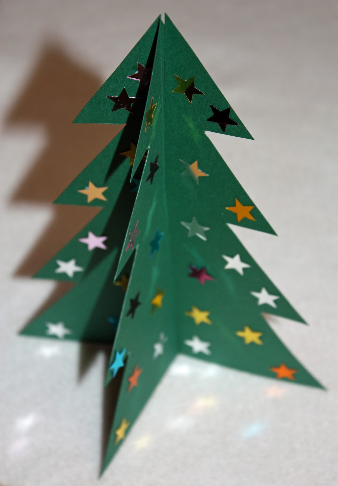 Craft And Activities For All Ages!: Make A 3D Card Christmas Throughout 3D Christmas Tree Card Template