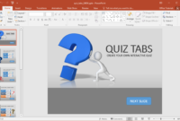 Create A Quiz In Powerpoint With Quiz Tabs Powerpoint Template pertaining to How To Create A Template In Powerpoint