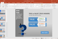 Create A Quiz In Powerpoint With Quiz Tabs Powerpoint Template within How To Create A Template In Powerpoint