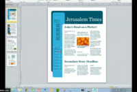 Create Your Magazine Content with regard to Magazine Template For Microsoft Word
