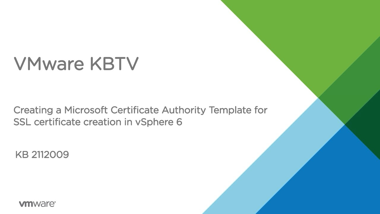 Creating A Microsoft Certificate Authority Template For Ssl For Certificate Authority Templates