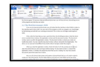 Creating A Table Of Contents In Microsoft Word 2010 with Apa Template For Word 2010