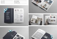 Creative Portfolio Brochure Indd | Resumes And Portfolio within Adobe Indesign Brochure Templates