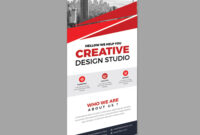 Creative Roll-Up Banner Design Template 001971 with regard to Pop Up Banner Design Template