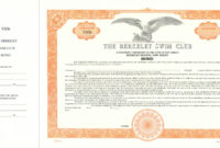 Custom Bond Certificate – Goes #850Or – Corporate Publishing with Corporate Bond Certificate Template