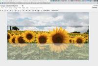 Custom Google Classroom Banner Using Google Drawings inside Classroom Banner Template
