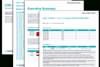 Cve Analysis Report – Sc Report Template | Tenable® intended for Information Security Report Template