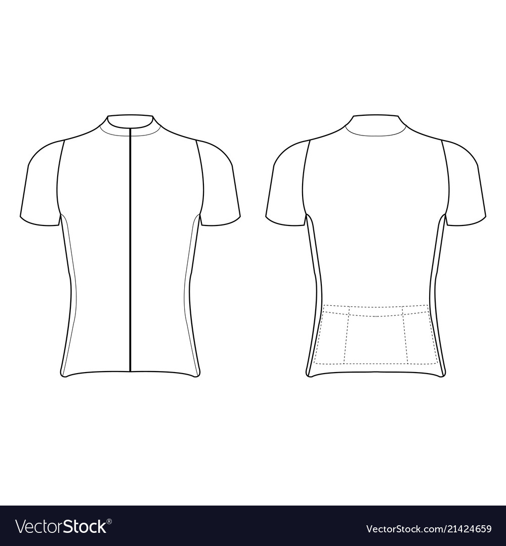 Cycling Jersey Design Blank Of Cycling Jersey Inside Blank Cycling Jersey Template