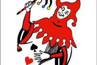 جوكر (بطاقة لعب) – ويكيبيديا regarding Joker Card Template