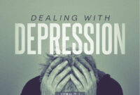 Dealing With Depression Christian Powerpoint | Powerpoint regarding Depression Powerpoint Template