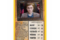 Details About Harry Potter And The Order Of The Phoenix Top Trumps Card Game with regard to Top Trump Card Template