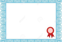 Diploma, Certificate Template In Award Certificate Border Template