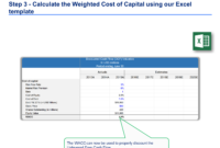 Discounted Cash Flow Analysis Example | Dcf Model Template with Stock Analysis Report Template