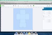 Diy Box Template For Cricut Design Space Throughout Card Box Template Generator