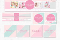Diy Editable Etsy Shop Graphic Bundle Kit | Etsy Banner within Free Etsy Banner Template