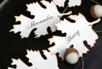 Diy Fall Place Card, Free Printable Download   Thanksgiving with regard to Table Place Card Template Free Download