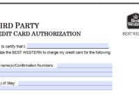 Download Best Western Credit Card Authorization Form regarding Hotel Credit Card Authorization Form Template