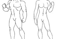 Download Blank Body Drawing Human Of () Drawing Images regarding Blank Body Map Template